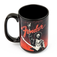 "Fender® Jimi Hendrix® Collection ""Peace Sign"" Mug -"