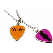 Fender™ Love, Peace and Music Necklace -