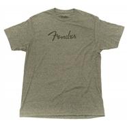 Fender® Distressed Logo Premium T-Shirt - Olive Heather