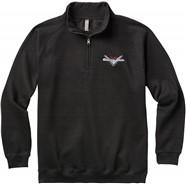 Fender® Custom Shop Half Zip Sweater - Black