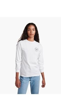 Fender® Brixton™ Highway L/S T-Shirt - White