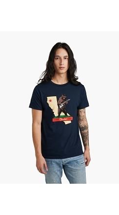 Fender® Rocks Cali T-Shirt - Navy