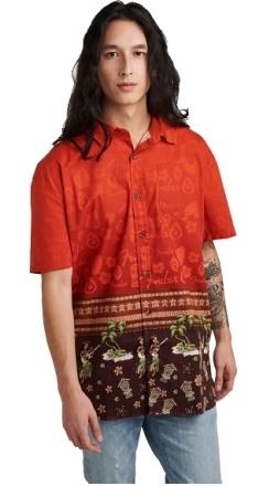The Hawaiian Button Up Shirt - Multi