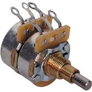 Concentric 250K-500K Solid Shaft Potentiometer - Steel