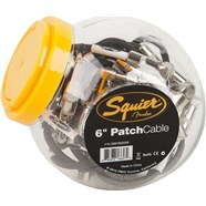 "Squier® Patch Cable, 6"" (20 pcs fishbowl) -"