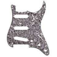 11-Hole Modern-Style Stratocaster® S/S/S Pickguards - Black Moto
