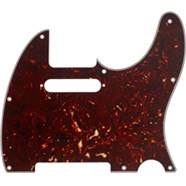 8-Hole Mount Multi-Ply Telecaster® Pickguards - Tortoise Shell