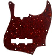 10-Hole Contemporary Jazz Bass® Pickguards - Tortoise Shell
