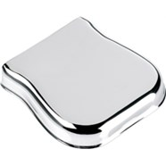 Pure Vintage Telecaster® Ashtray Bridge Cover - Chrome