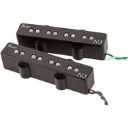 Fender N3 Noiseless™ Jazz Bass Pickups - Black
