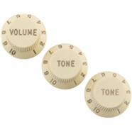 Road Worn® Strat® Knobs Aged White -
