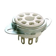 Pure Vintage Octal Tube 8-Pin Socket -