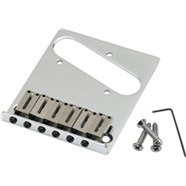 6-Saddle American Series Telecaster® Bridge Assemblies - Chrome