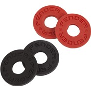 Fender Strap Blocks - Black and Red