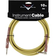 Fender® Custom Shop Cables (Straight-Right Angle) - Tweed