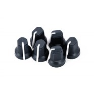 Black Pointer Amplifier Knobs (6) -