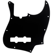 10-Hole Contemporary Jazz Bass® Pickguards - Black