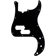 13-Hole Multi-Ply Modern-Style Precision Bass® Pickguards - Black
