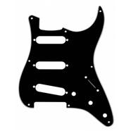 8-Hole '50s Vintage-Style Stratocaster® S/S/S Pickguards - Black