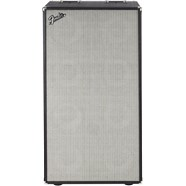 Bassman® 810 Neo Enclosure - Black and Silver