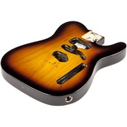 USA Telecaster® Ash Body (Modern Bridge) - 2-Color Sunburst -