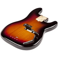 USA Precision Bass® Body (Modern Bridge) - 3-Color Sunburst -