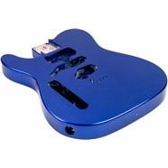 USA Telecaster® Left-Hand Body (Modern Bridge) - Mystic Blue -