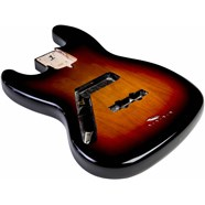 USA Jazz Bass® Left-Hand Body (Modern Bridge) - 3-Color Sunburst -