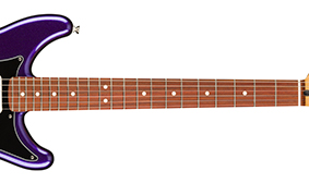 "MODERN ""C"" NECK SHAPE with 9.5"" RADIUS AND MEDIUM JUMBO FRETS"