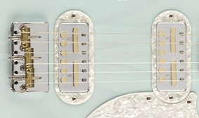 CUSTOM DESIGNED FENDER GOLD FOIL PICKUPS