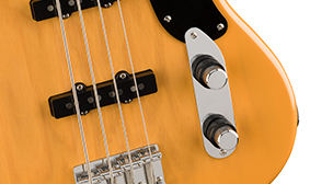 Dual Concentric Volume And Tone Controls
