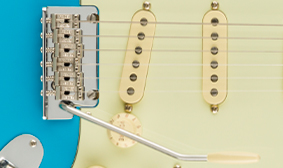 2-POINT TREMOLO WITH COLD-ROLLED STEEL BLOCK