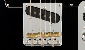 "TOP-LOAD/STRING-THROUGH ""BULLET"" SADDLE TELE BRIDGE"