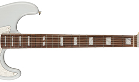 MAPLE NECK WITH BOUND ROSEWOOD FINGERBOARD