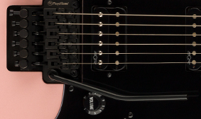 DOUBLE-LOCKING TREMOLO SYSTEM BY FLOYD ROSE®