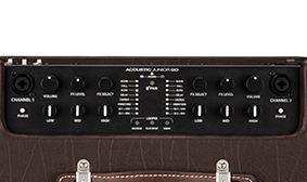 Two identical channels, interchangeable for instruments and/or vocals