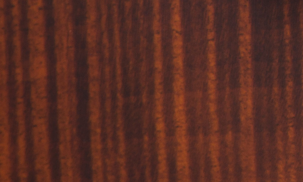 Caramelized Mahogany Body with Flame Maple Top