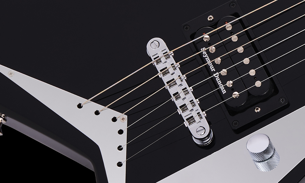 Jackson TOM-Style Adjustable Bridge with Anchored Tailpiece
