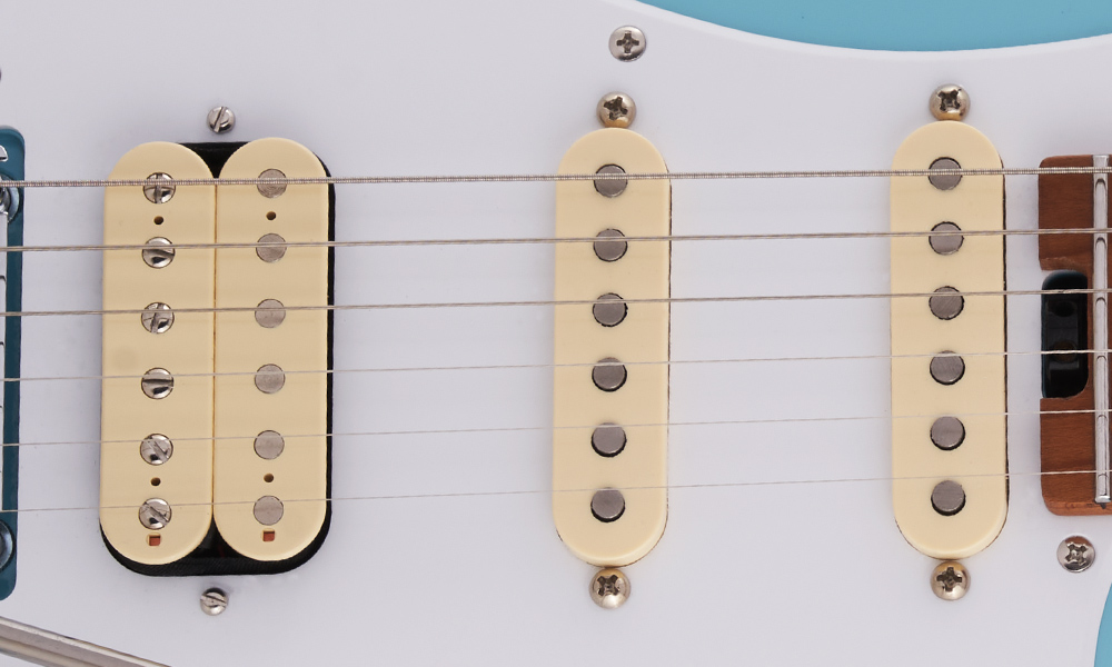 Bare Knuckle Ragnarock Humbucking Bridge and Bare Knuckle Trilogy Single-Coil Middle and Neck Pickups