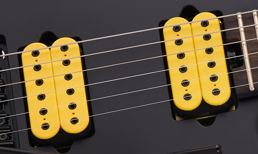 DiMarzio® Super Distortion® DP100 bridge and DiMarzio PAF Pro® DP151 neck humbucking pickups