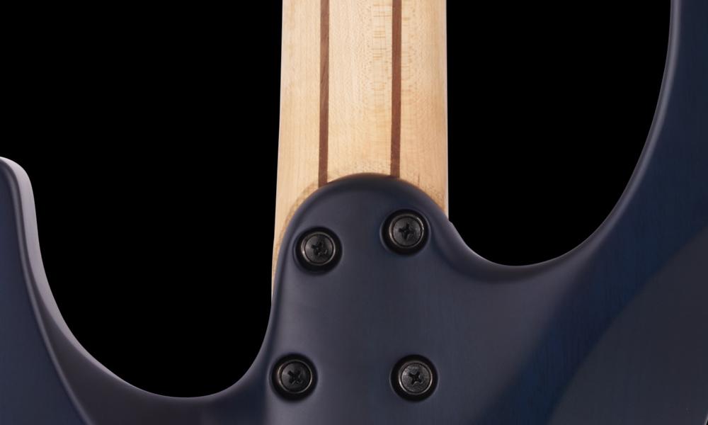 Bolt-On Five-Piece Maple/Walnut/Maple/Walnut/Maple Neck with Graphite Reinforcement