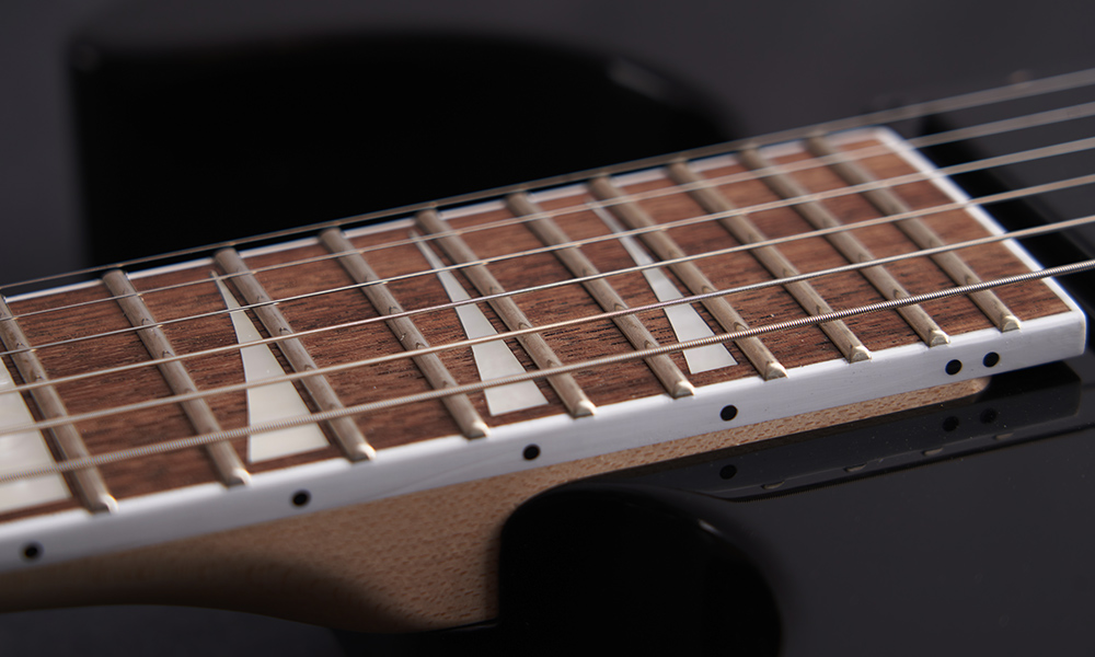 Bolt-On Maple Neck with Graphite Reinforcement and Scarf Joint