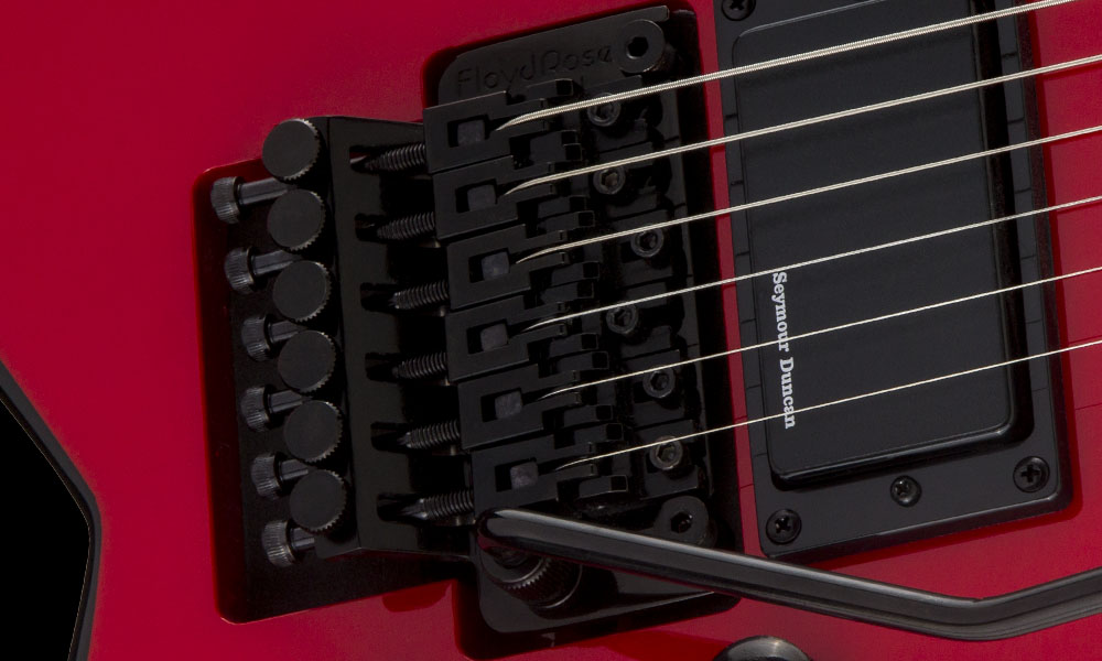 FLOYD ROSE® SPECIAL DOUBLE-LOCKING TREMOLO SYSTEM (RECESSED)