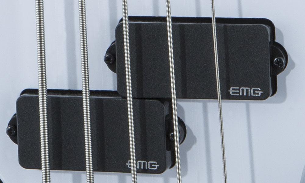 ACTIVE EMG® J BRIDGE AND EMG P NECK PICKUPS