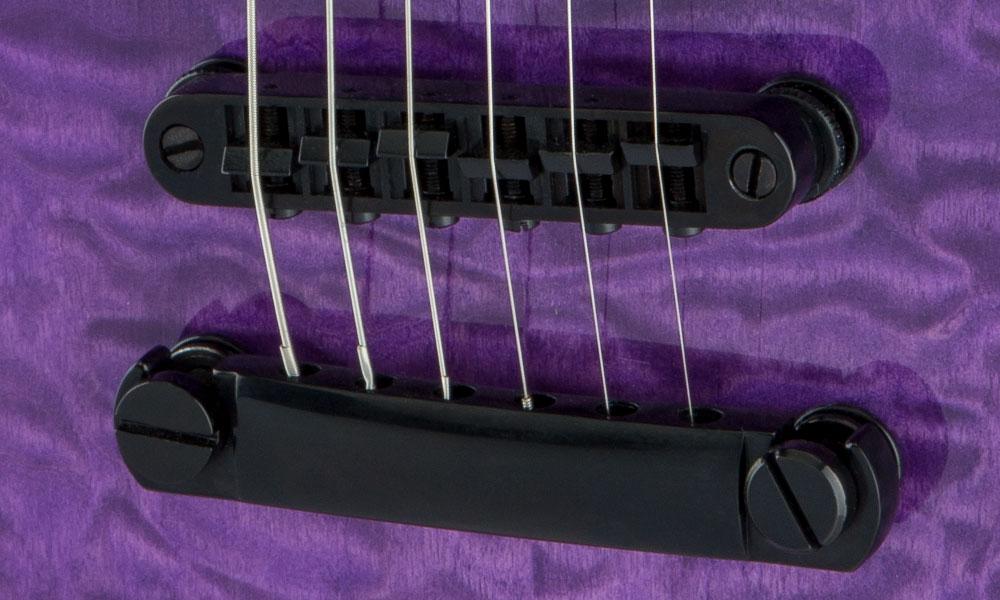 Jackson JS 22Q SC E-Gitarre in Trans Purple Burst