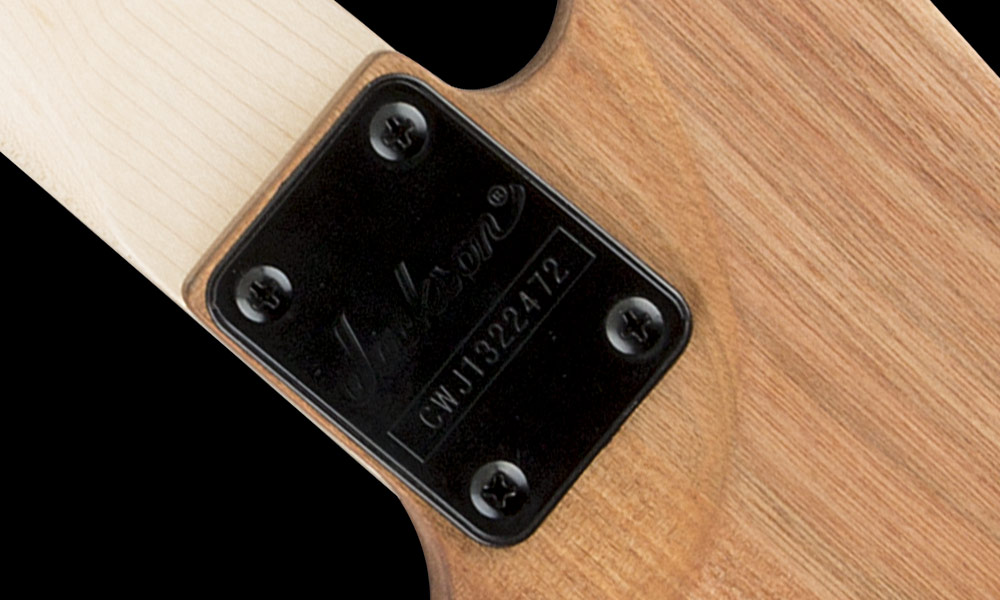 One-Piece Bolt-On Maple Neck with Graphite Reinforcement and Scarf Joint