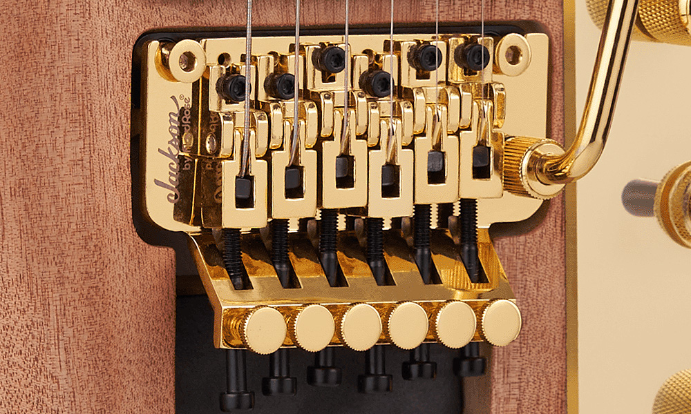 Jackson-Branded Floyd Rose® Double-Locking Tremolo