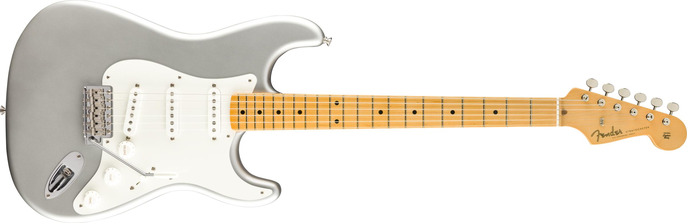 FENDER-American-Original-50s-Stratocaster-Maple-Fingerboard-Inca-Silver-sku-571004445