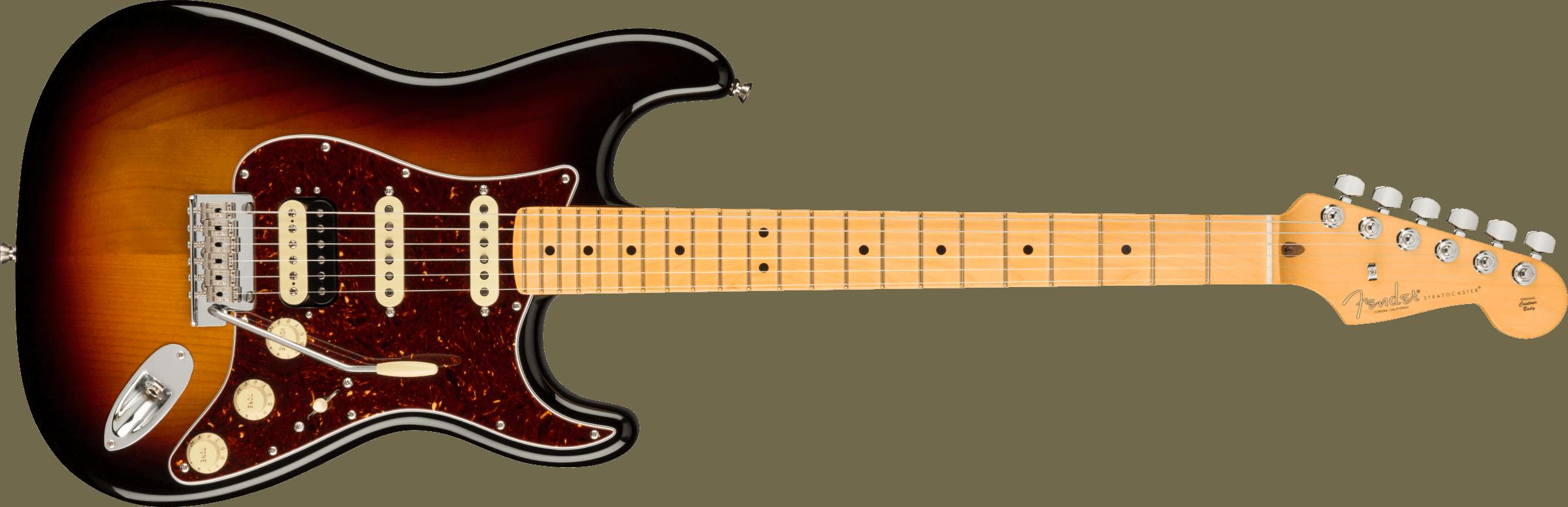 FENDER-American-Professional-II-Stratocaster-HSS-Maple-Fingerboard-3-Color-Sunburst-sku-571005532