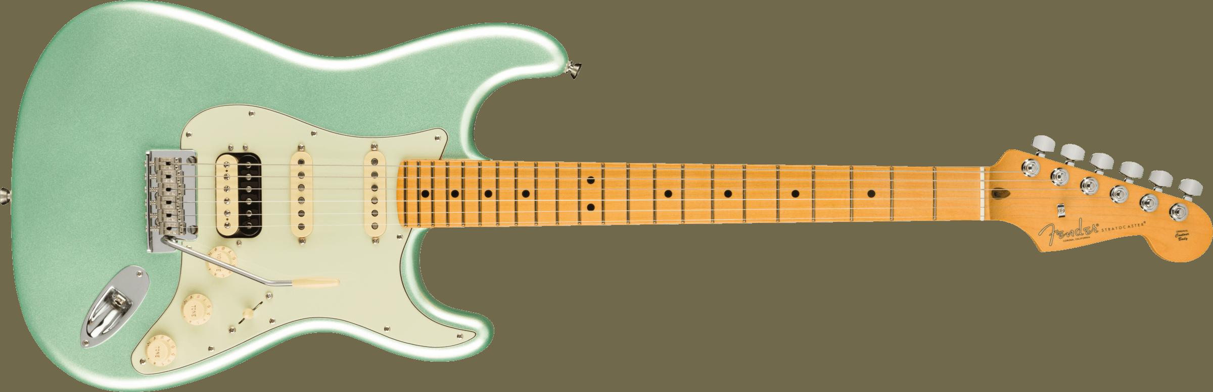 FENDER-American-Professional-II-Stratocaster-HSS-Maple-Fingerboard-Mystic-Surf-Green-sku-571005534